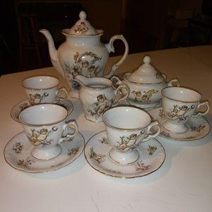 Vintage Trisa Porcelain Tea Set